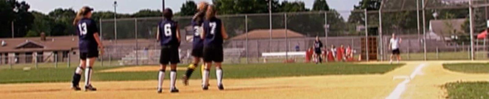 Hit to Right - baseball movie header
