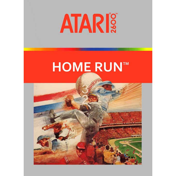 Home Run for Atari 2600