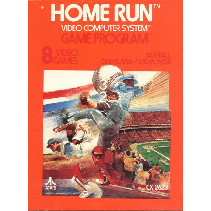Home Run for Atari (8 games)