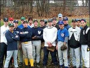 2001 Inaugural MABL Winterball Team