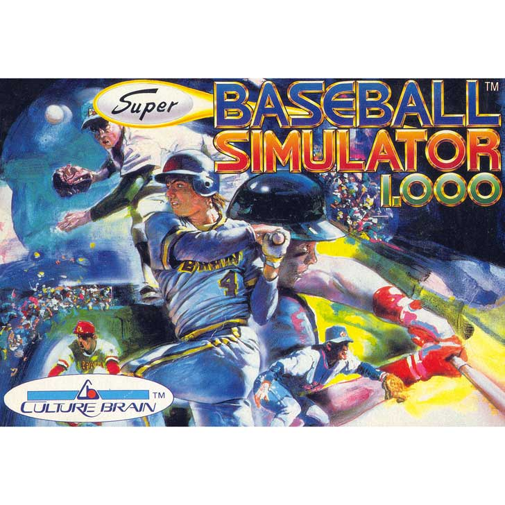 Super Baseball Simulator 1.000 by Culture Brain
