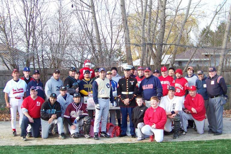 2010 Winterball Baseball players