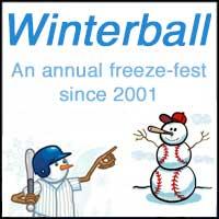 Winterball Baseball logo