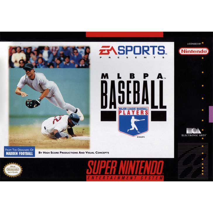 MLBPA Baseball by EA Sports