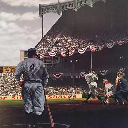 Bill Purdom: Babe Ruth