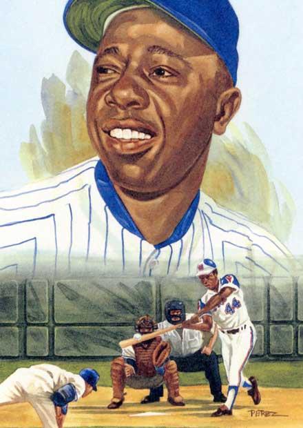 Dick Perez: Hank Aaron