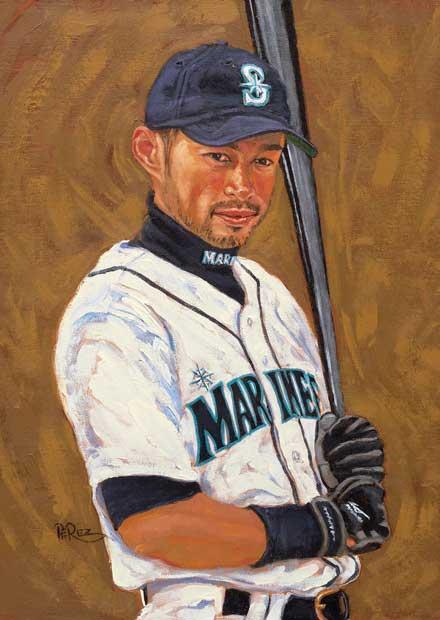 Dick Perez: Ichiro Suzuki