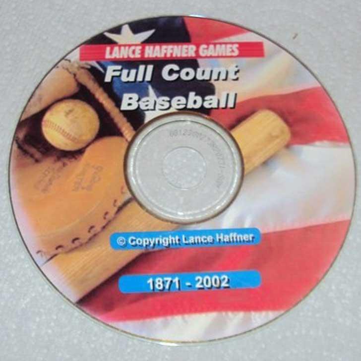 Full Count Baseball CD