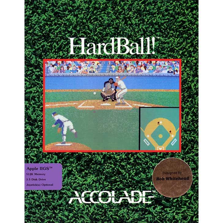 Hardball! by Accolade (1985)