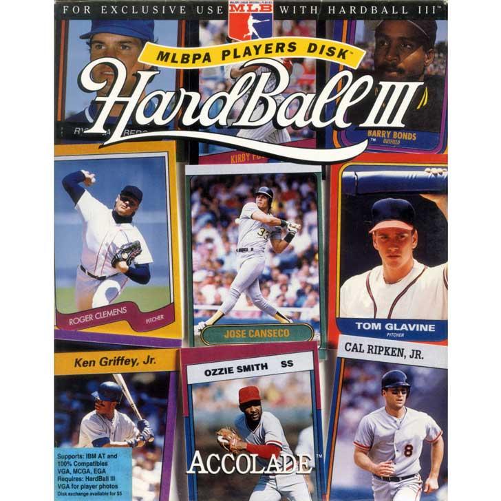 Hardball III MLBPA Players Disk