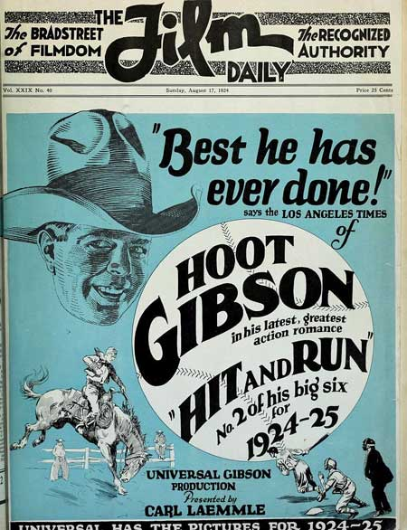 Hit and Run featuring Hoot Gibson