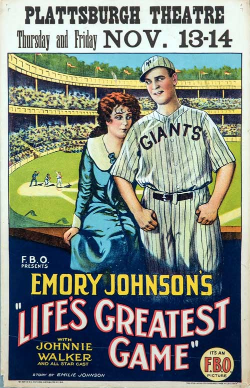 Life's Greatest Game baseball movie poster