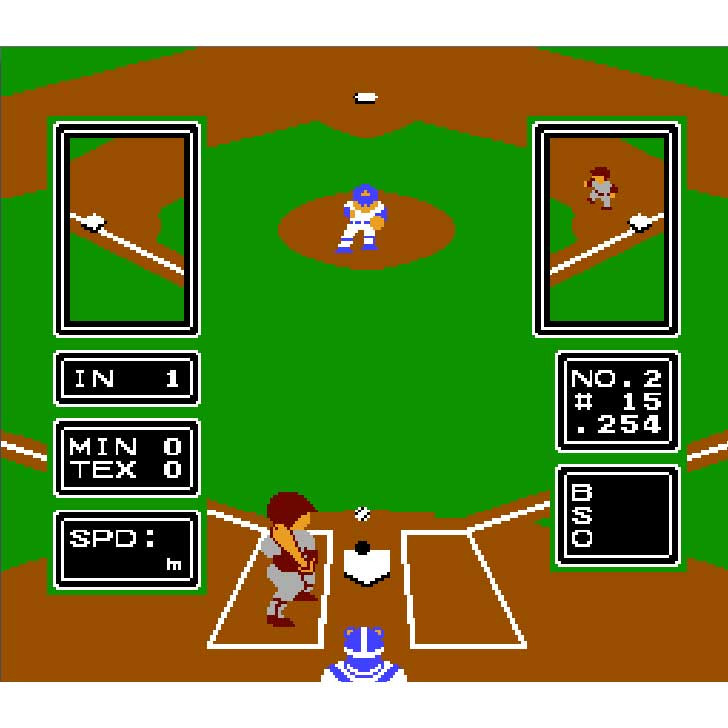 Major League Baseball by LJN Screenshot