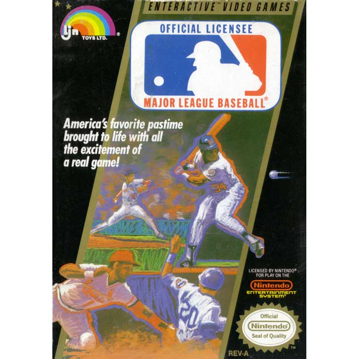 Major League Baseball by LJN