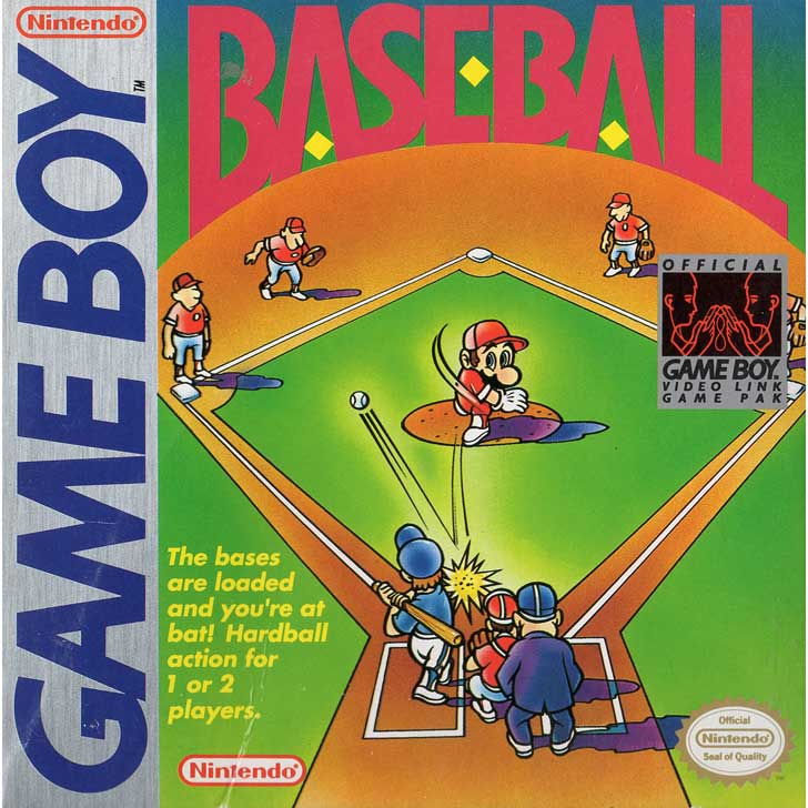 Baseball for Nintendo featuring Mario