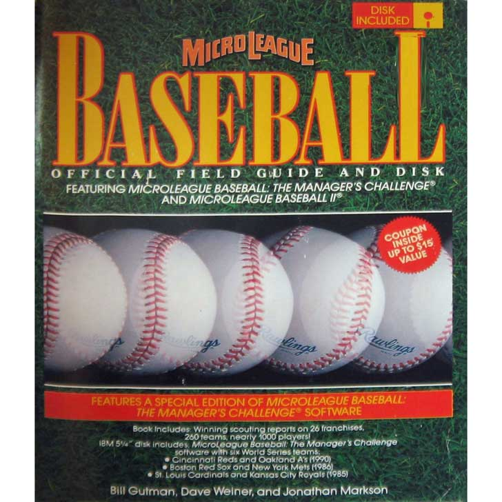 MicroLeague Baseball Official Field Guide & Disk