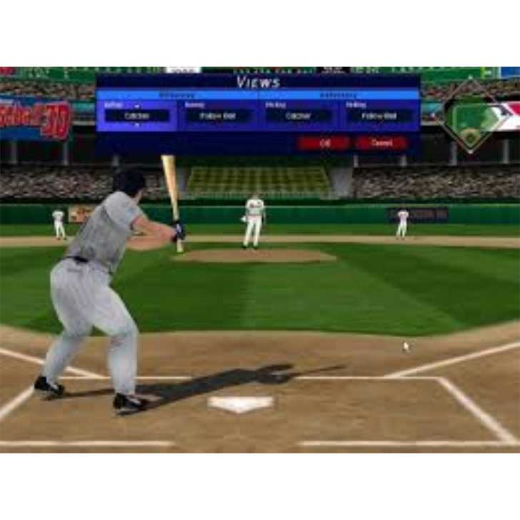 Microsoft Baseball 3D Screenshot