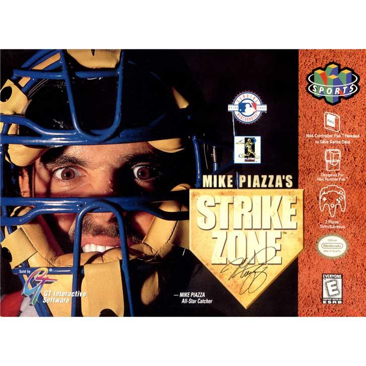 Mike Piazza's Strike Zone
