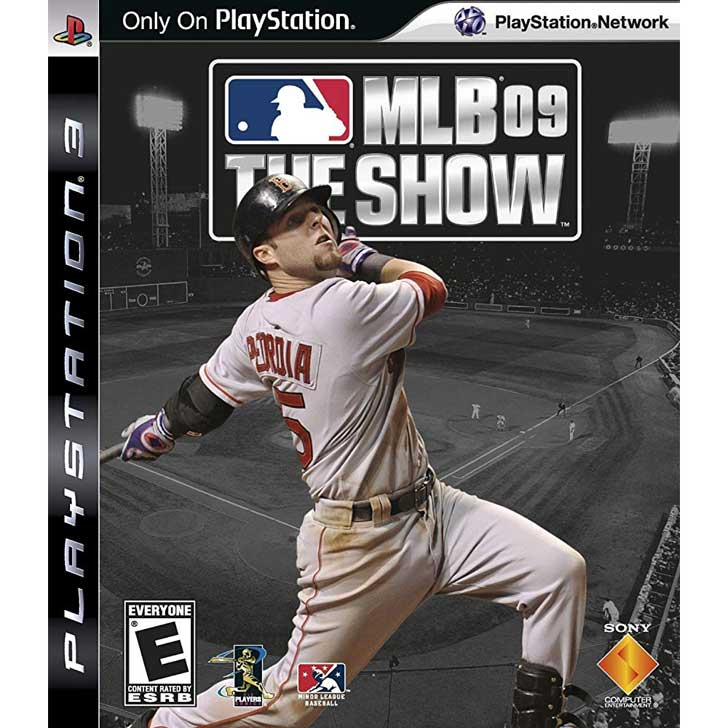 MLB 09: The Show with Dustin Pedroia