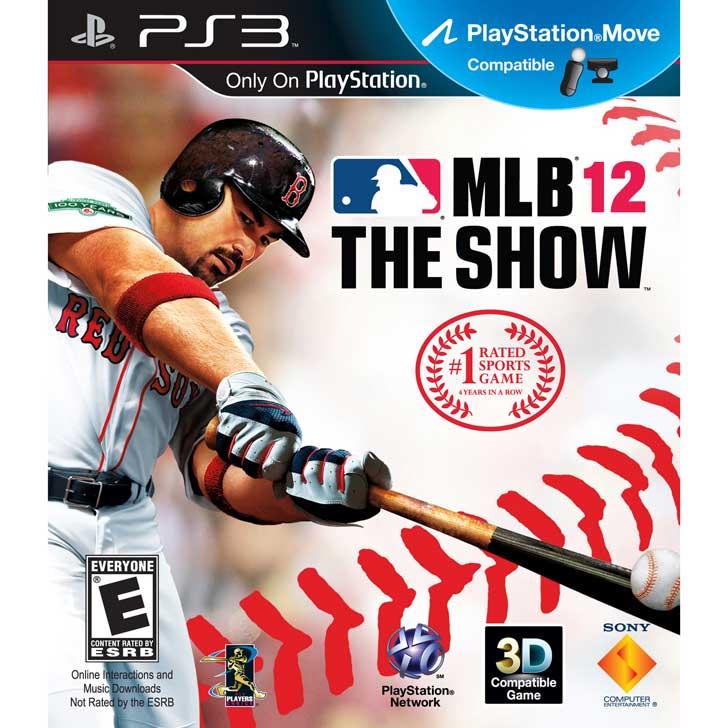 MLB 12: The Show with Adrian Gonzalez