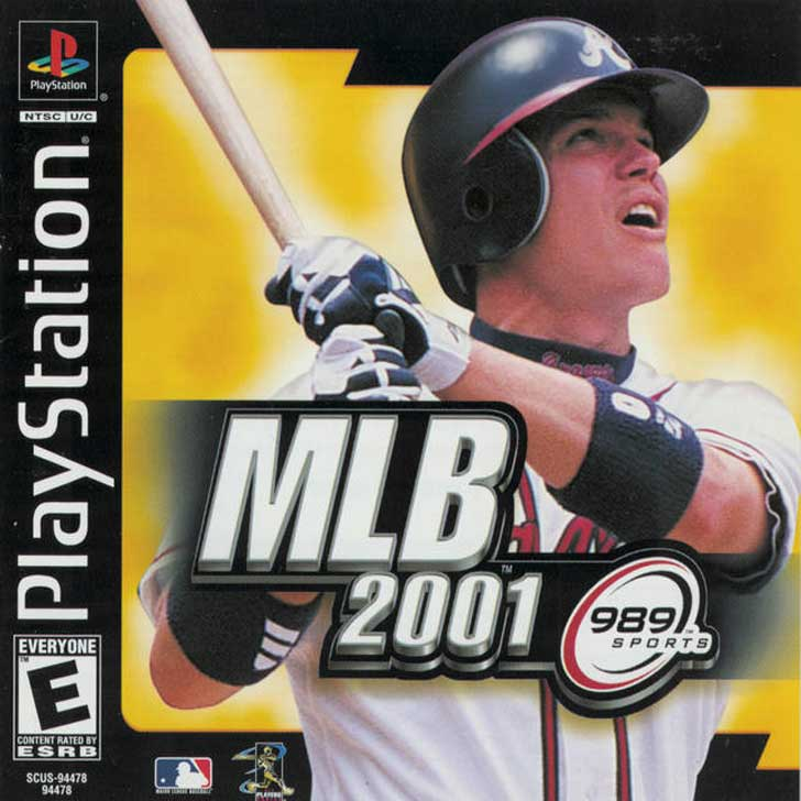 MLB 2001 by 989 Sports