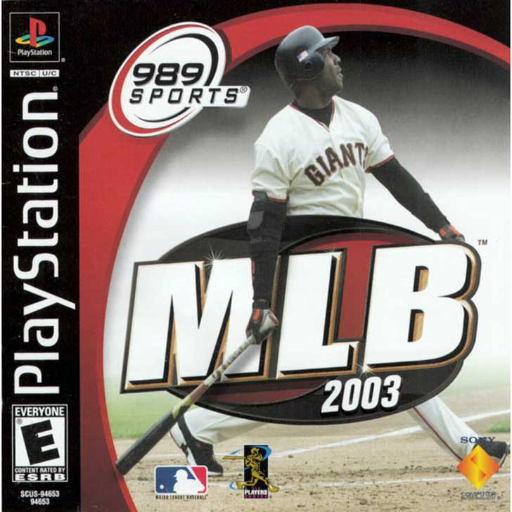 MLB 2003 by 989 Sports