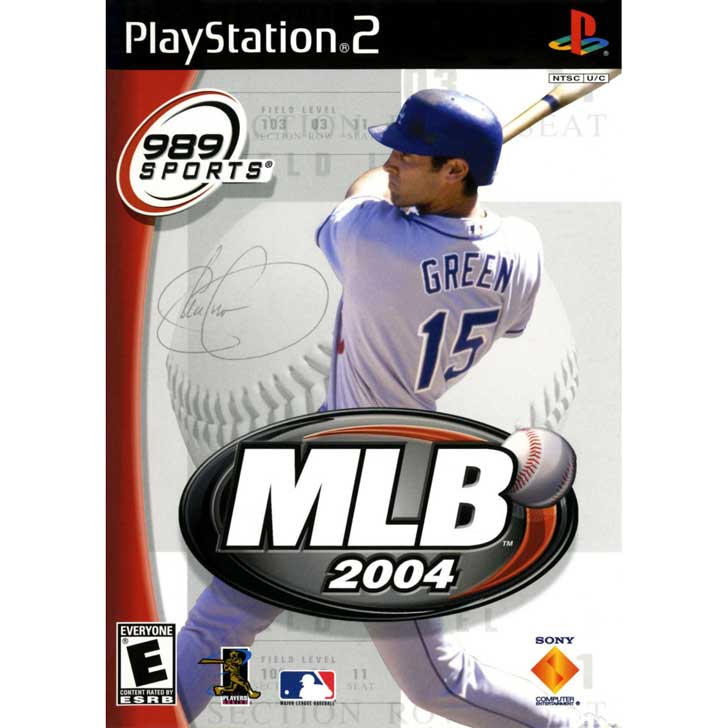 MLB 2004 by 989 Sports