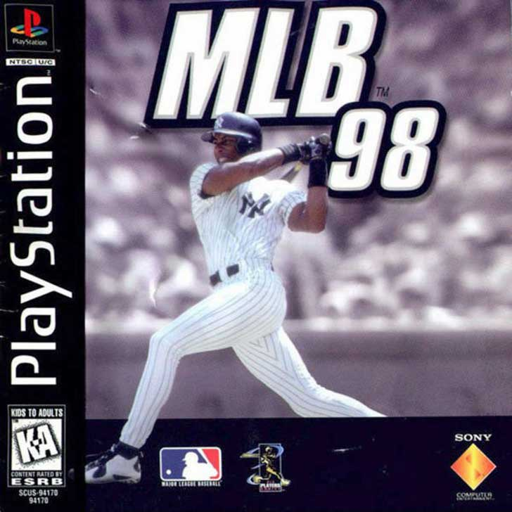 MLB 98 by 989 Sports