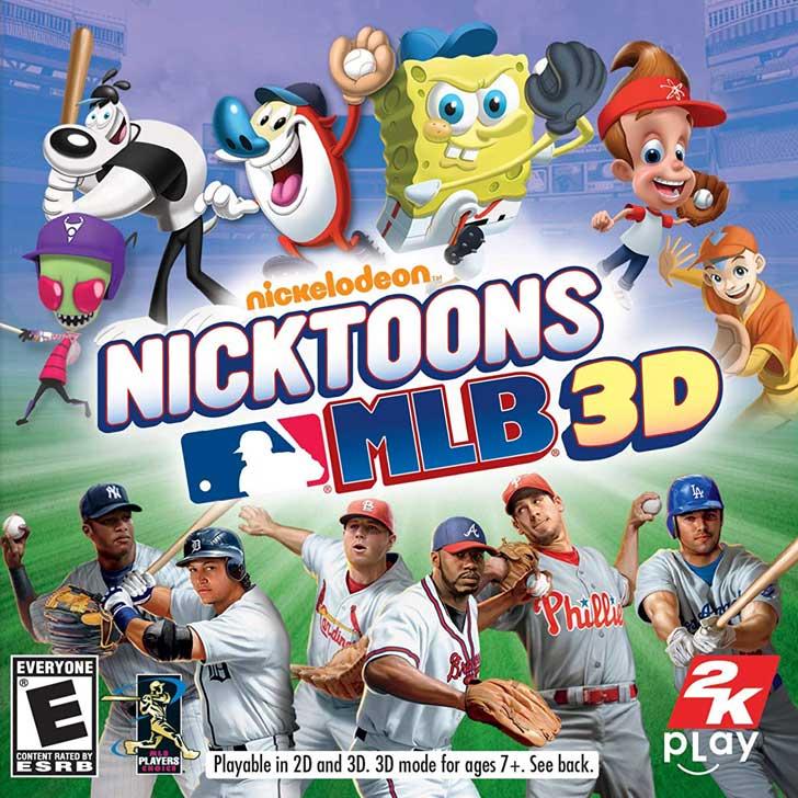 Nickelodeon's Nicktoons MLB 3D