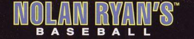 Nolan Ryan's Baseball - header