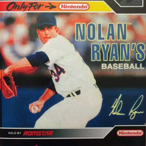 Nolan Ryan's Baseball for Nintendo