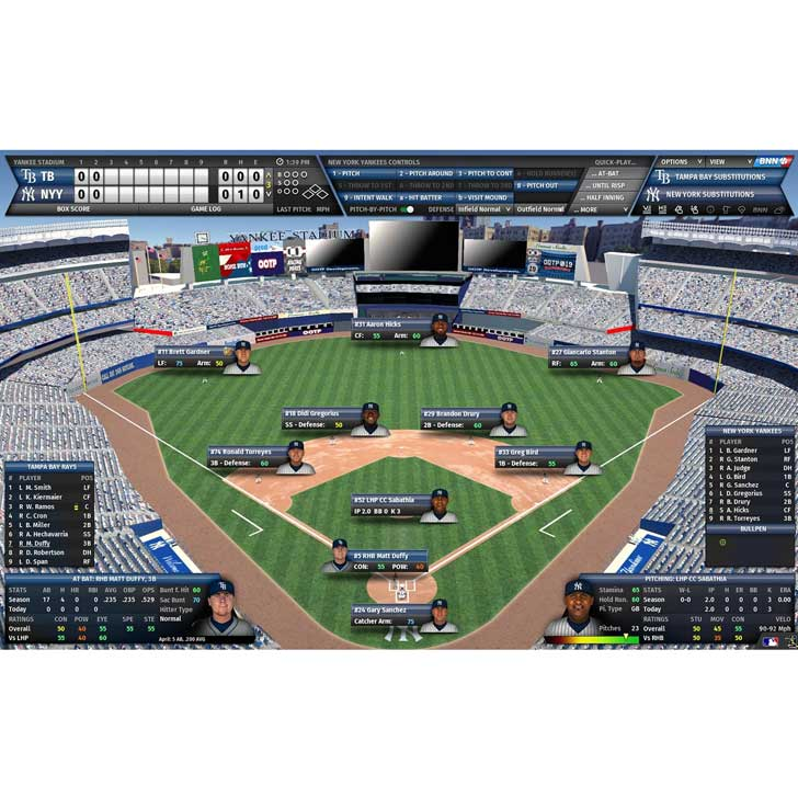 Out of the Park (OOTP) In Game