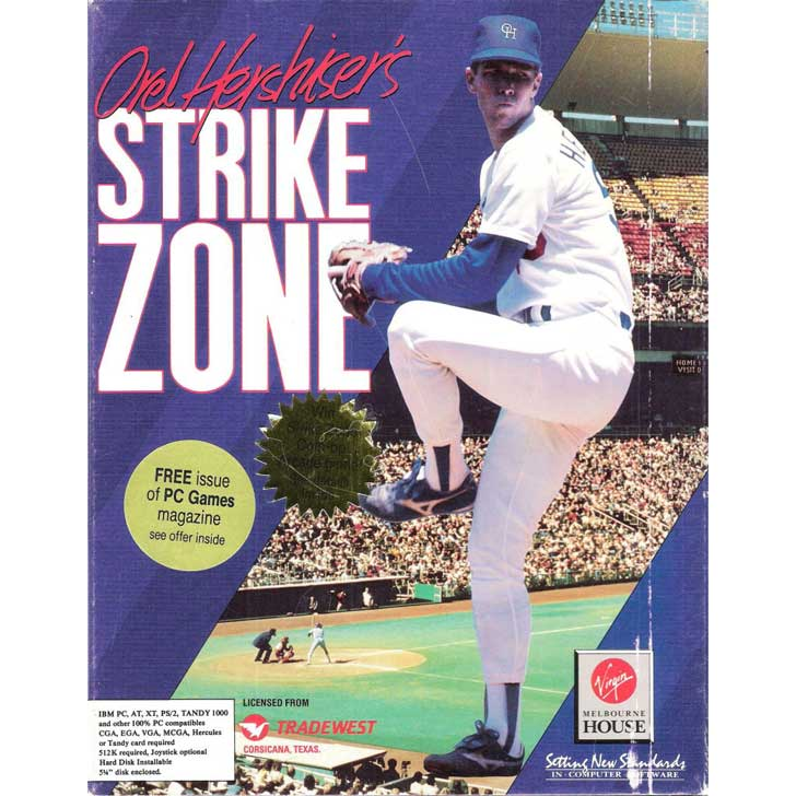 Orel Hershiser's Strike Zone
