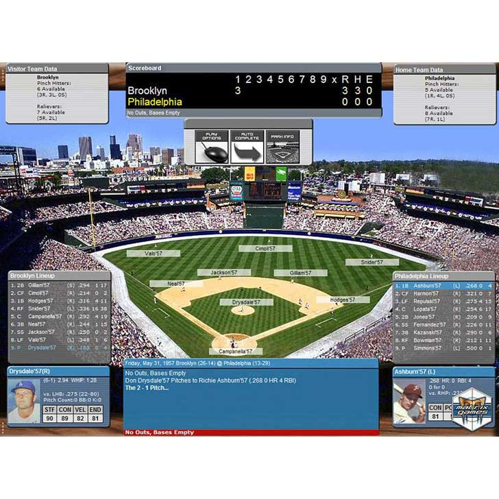 PureSim Baseball Screenshot