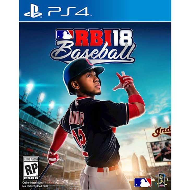 R.B.I. Baseball 18 with Francisco Lindor