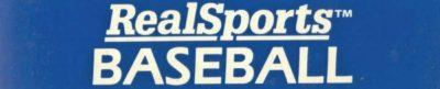 RealSports Baseball - header