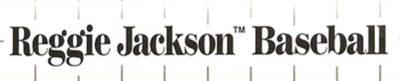 Reggie Jackson Baseball - header