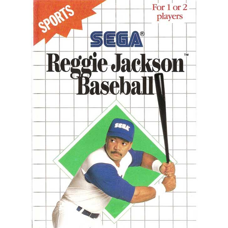 Reggie Jackson Baseball by Sega