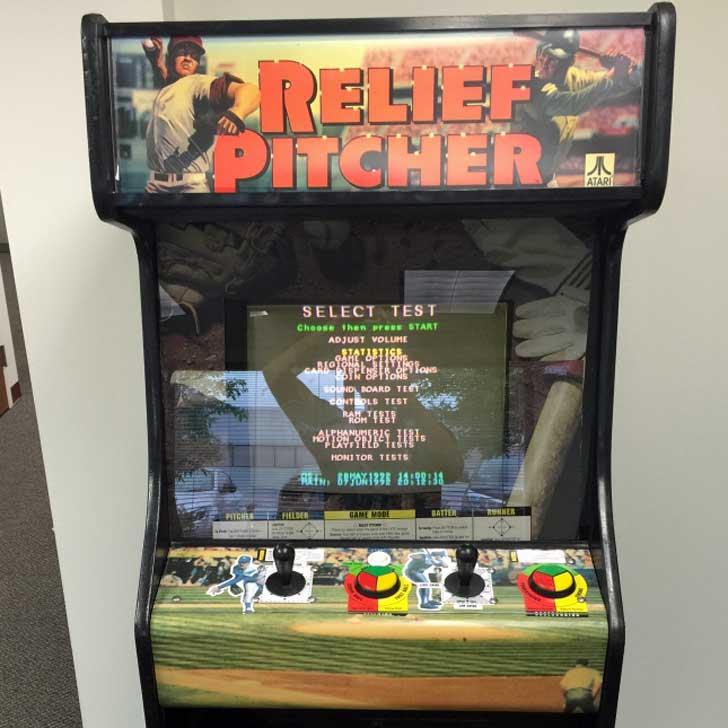 Relief Pitcher Arcade Game