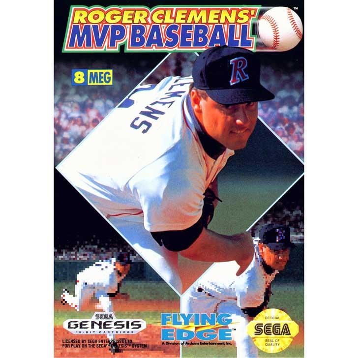 Roger Clemens' MVP Baseball (1992, Sega Genesis)