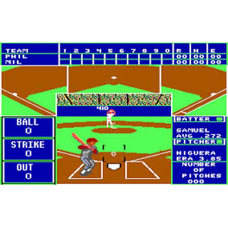 The Sporting News Baseball (1988 screenshot)