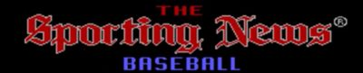 The Sporting News Baseball - header