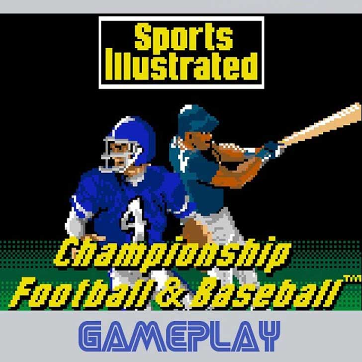 Sports Illustrated Championship Football & Baseball (Sega)
