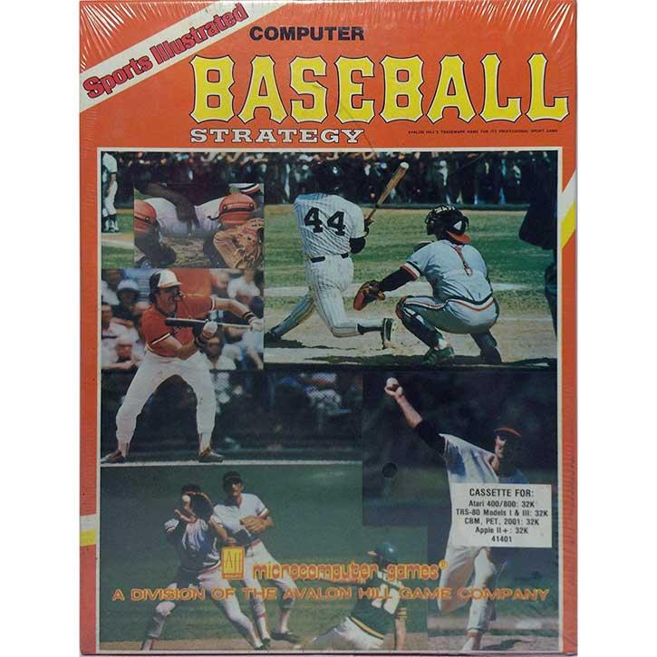 Sports Illustrated: Computer Baseball (1982)