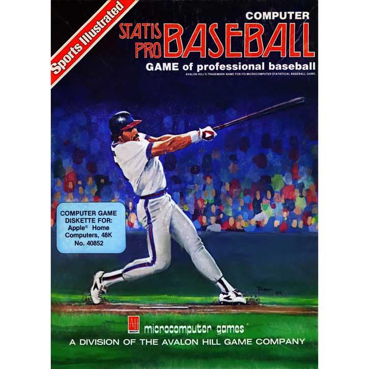 Sports Illustrated: Computer Statis Pro Baseball (1983)