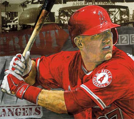 Stephen Holland: Mike Trout