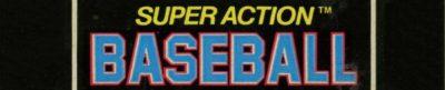 Super Action Baseball - header