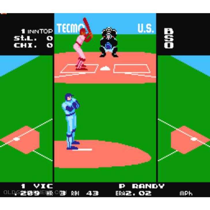 Tecmo Baseball screenshot