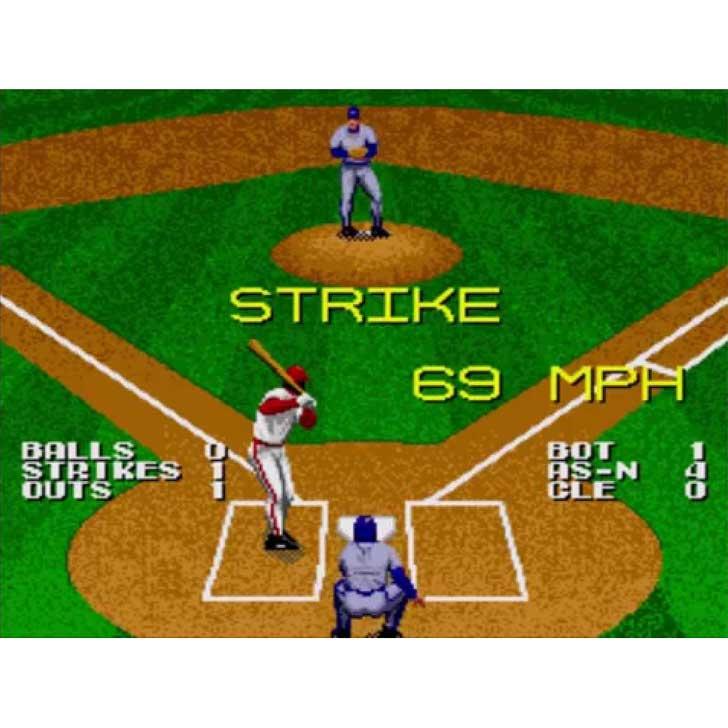 Tecmo Super Baseball screenshot