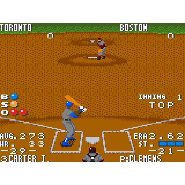 The Majors Pro Baseball screenshot